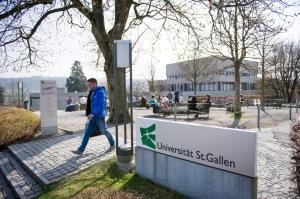 Impressionen HSG, Universitaet St. Gallen.. 29.03.2012 Bild: Urs Jaudas